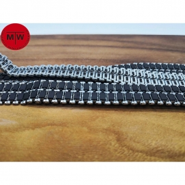 1/35 Scale Metal Track Links with metal pin for German Leopard 1 Tank