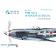 Yak-3 3D-Printed & coloured Interior on decal paper (for 4814 Zvezda kit)