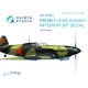 Yak-1 (mid. production) 3D-Printed & coloured Interior on decal paper (for all kits)