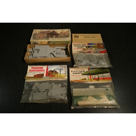 Airfix 00 scale rarities - 4 pieces